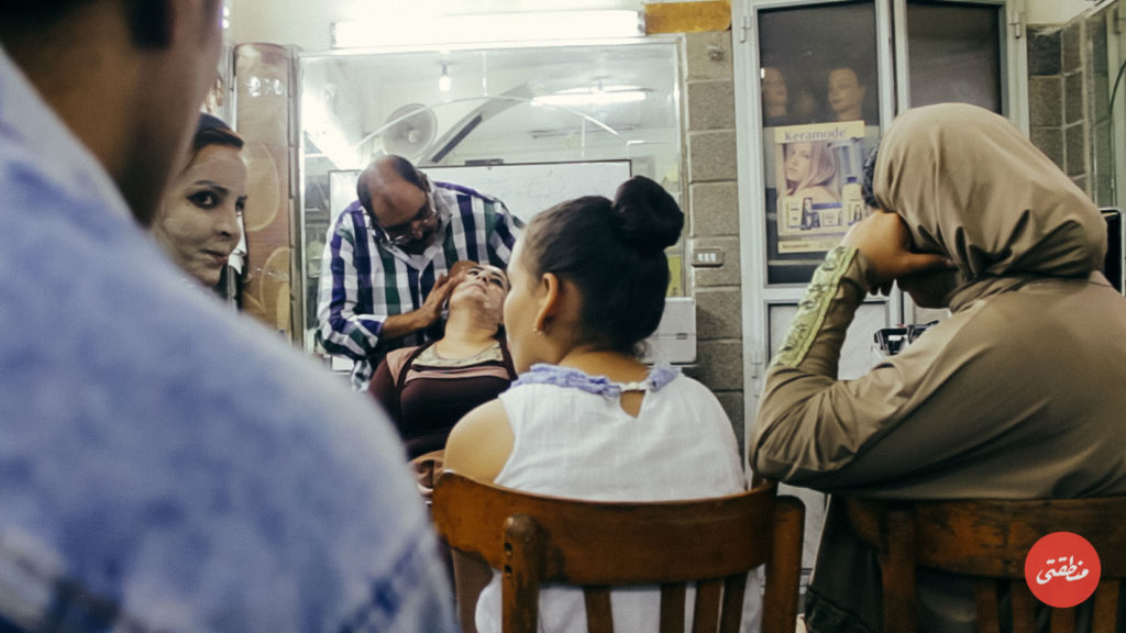 أثناء ورشة تدريبية بمقر الرابطة - تصوير - أحمد جمال