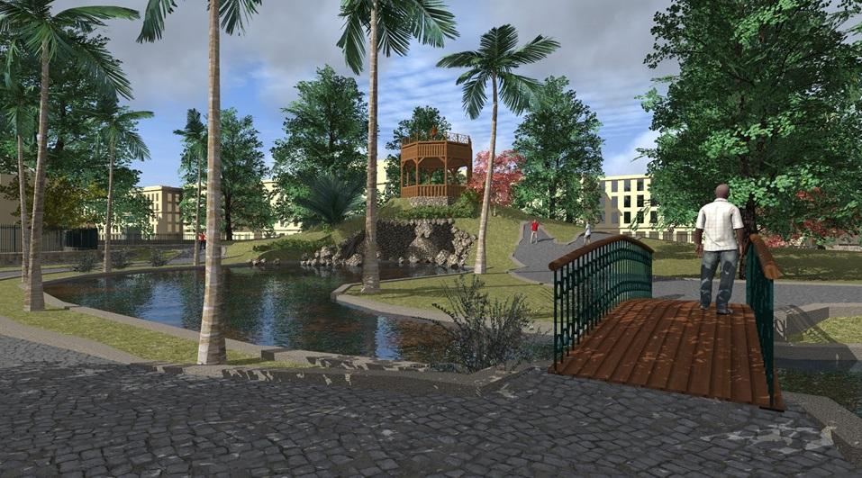 صورة تخيلية لمشروع تطوير حديقة الأزبكية