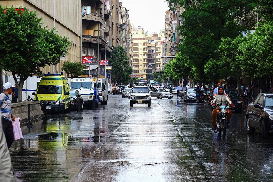 أمطار وسط البلد