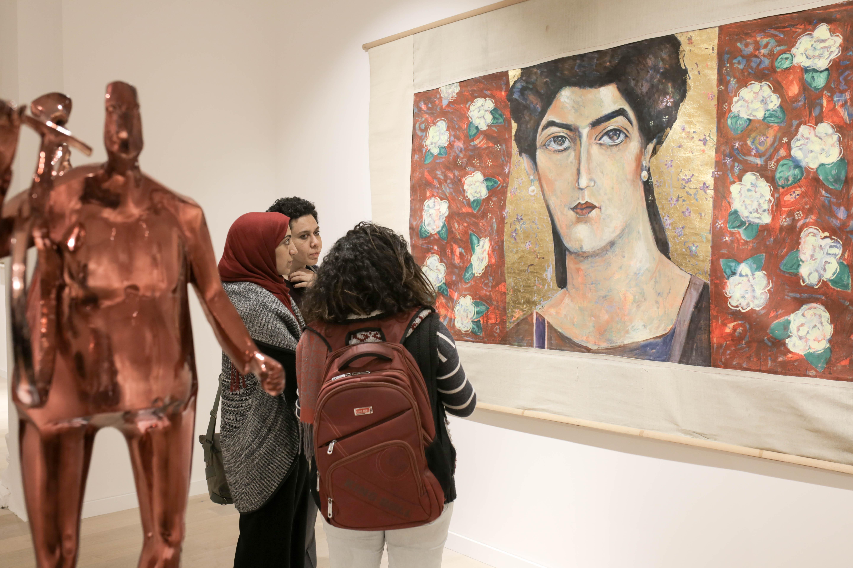 معرض مركز التحرير الثقافي