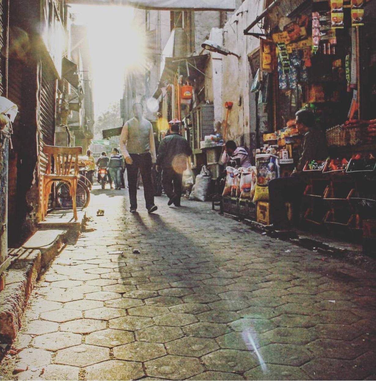 شارع شركس الوسطاني بمثلث ماسبيرو- تصوير: صديق البخشونجي