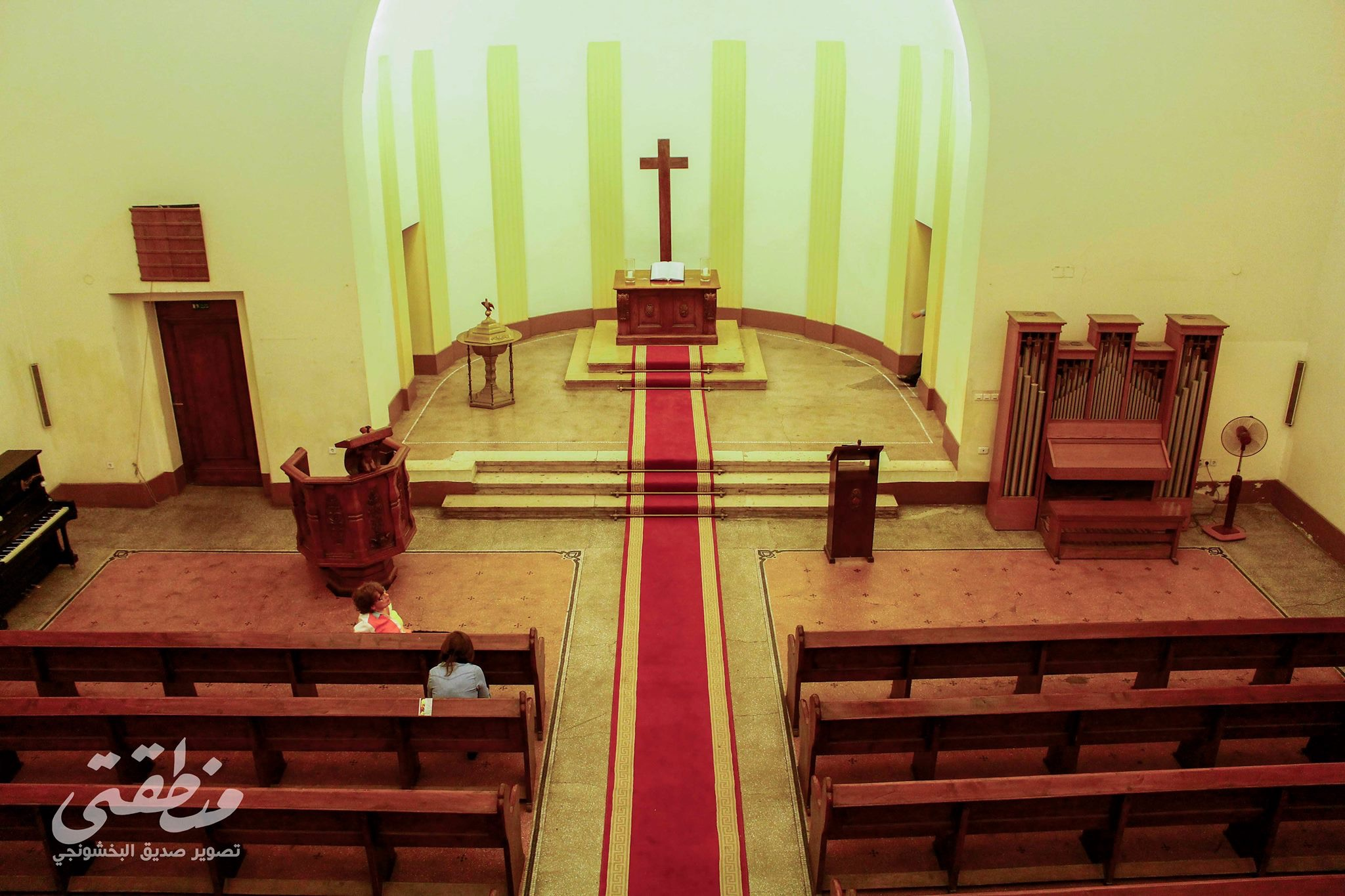 بهو الكنيسة الألمانية بوسط البلد